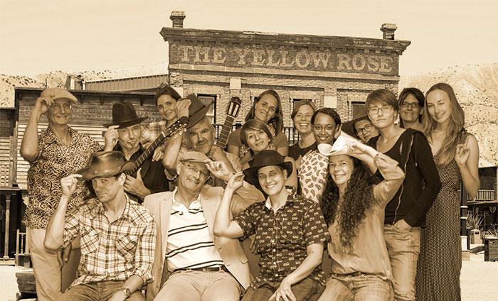cowboychor-einfarbig